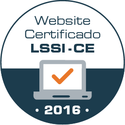 Website certificado LSSI-CE